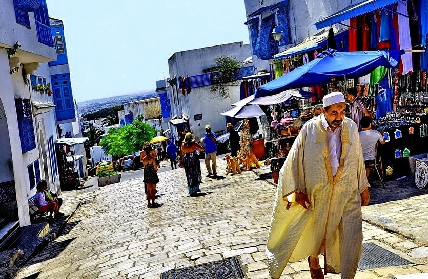 тунис рынок