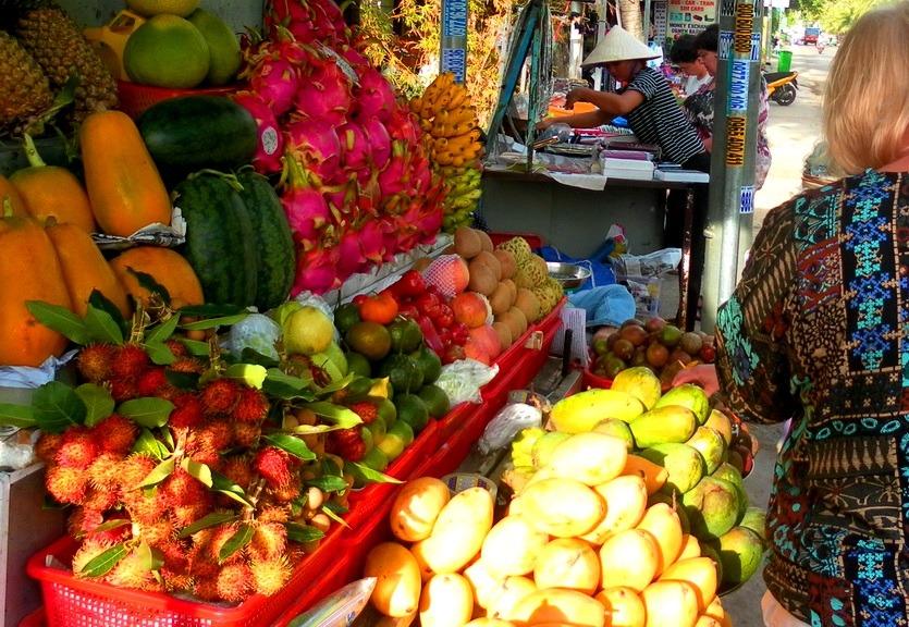 шоппинг во вьетнаме фрукты