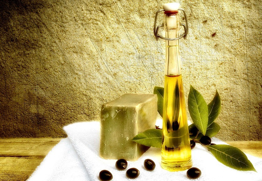 оливковая косметика