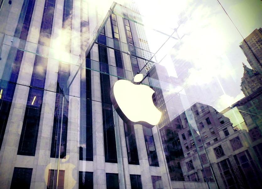 магазин apple в нью-йорке