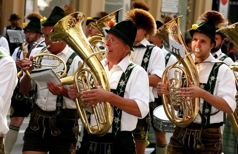 традиционная одежда германии