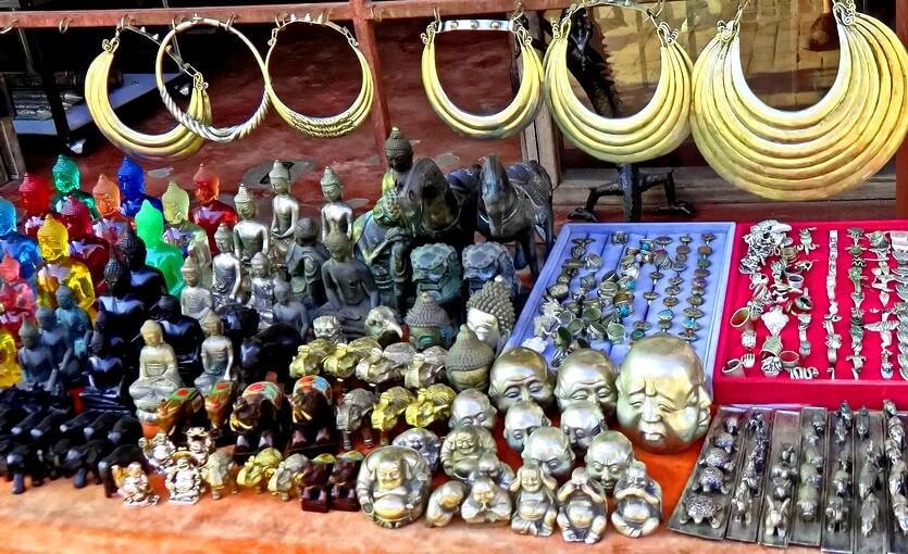 шоппинг в лаосе сувениры