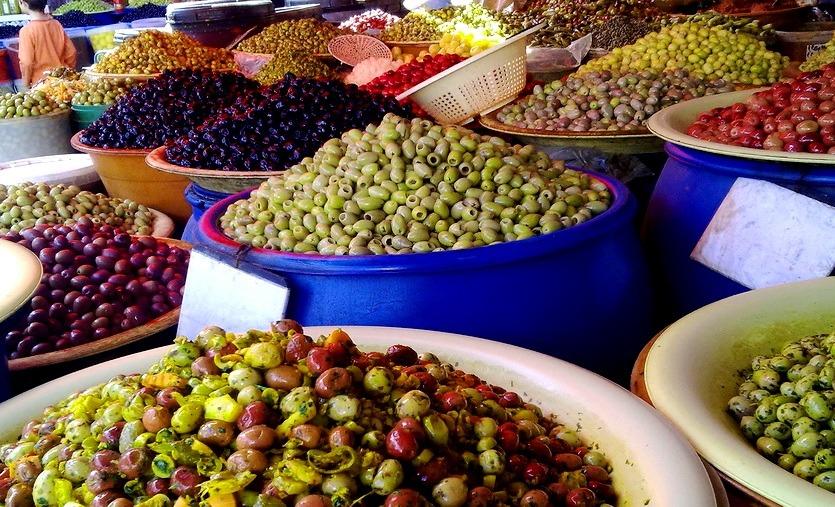 оливки в марокко