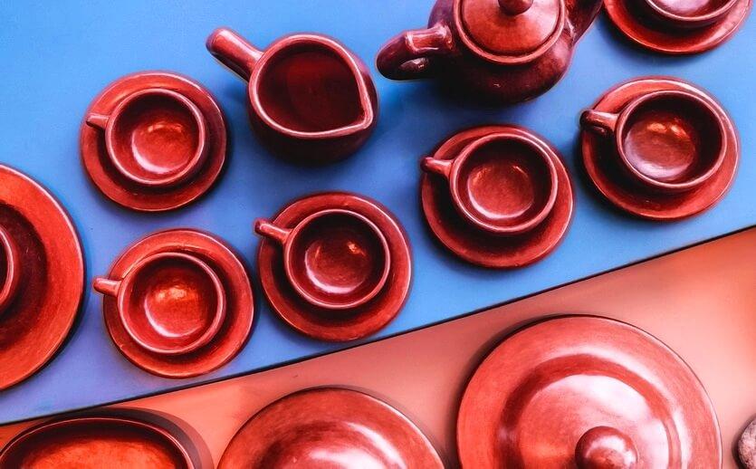 глиняная посуда из анголы