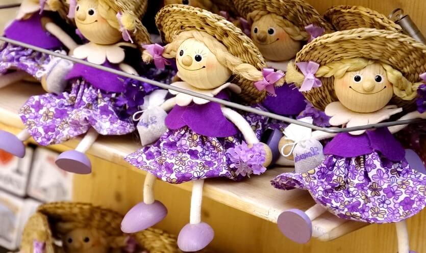 лавандовые куклы в хорватии