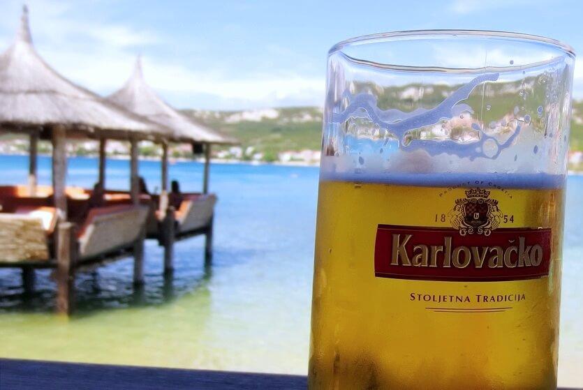 хорватия пиво