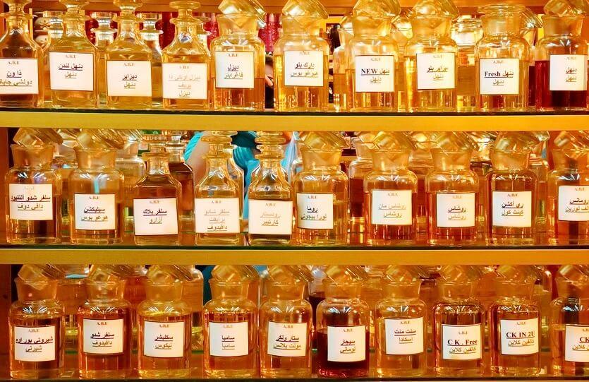 шоппинг в иордании масла