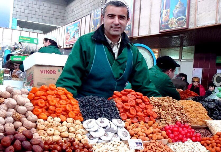 зеленый рынок в алматы казахстан