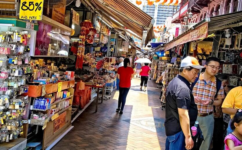рынок в сингапуре