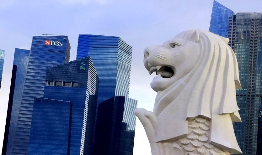 мерлайон символ сингапура