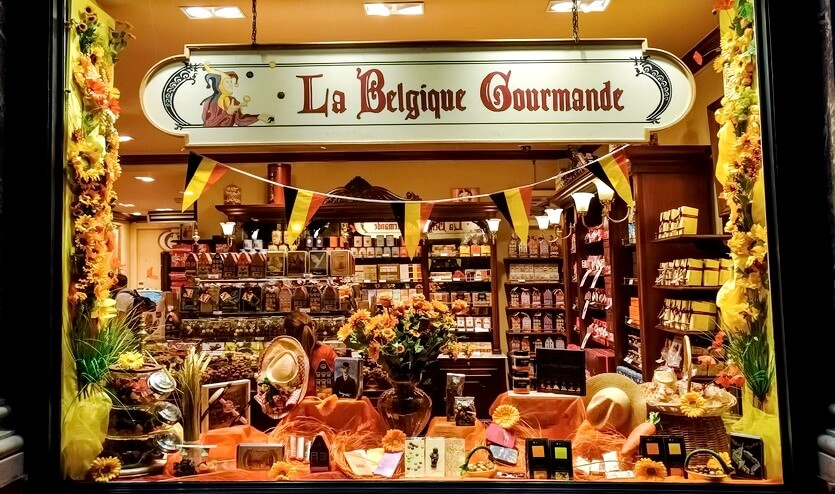 бельгия шоппинг шоколад