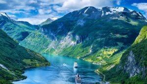 норвегия фьорд