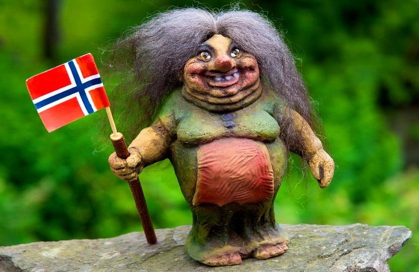 тролль из норвегии