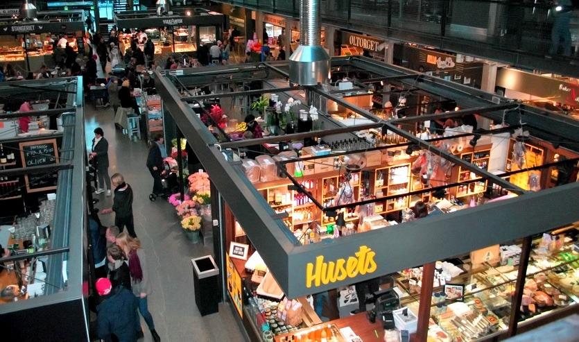рынок матхаллен в осло шоппинг