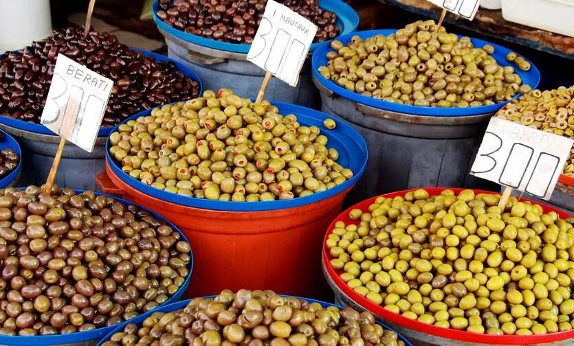 оливки в албании