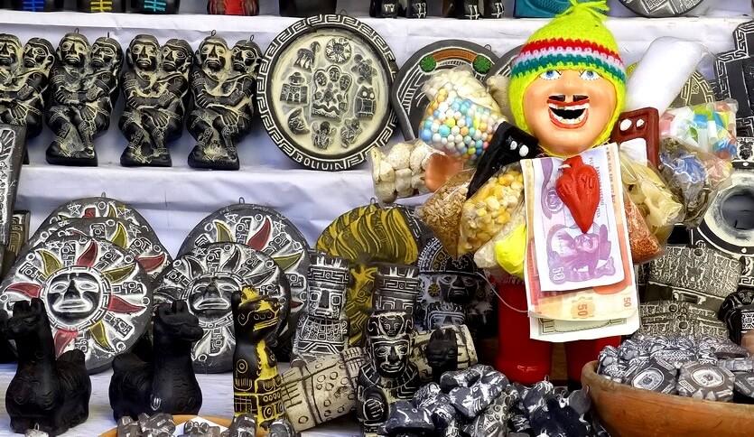сувениры из боливии