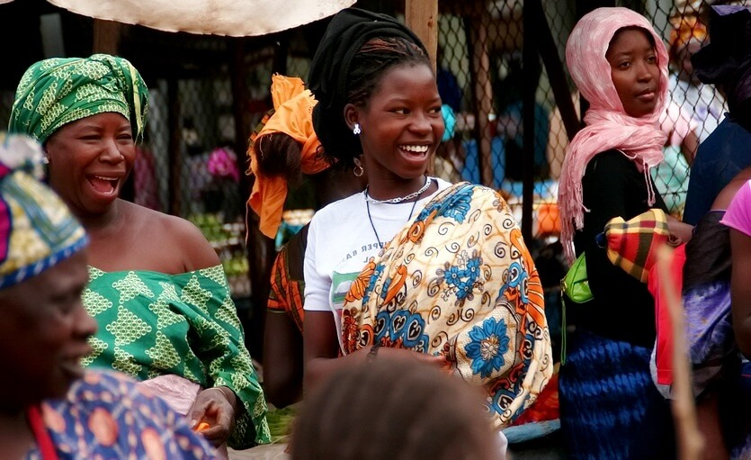 шоппинг в гамбии