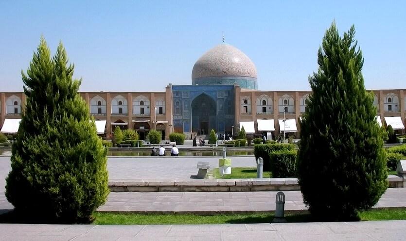 иран исфахан