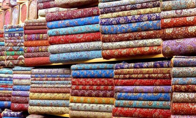 шоппинг в иране платки