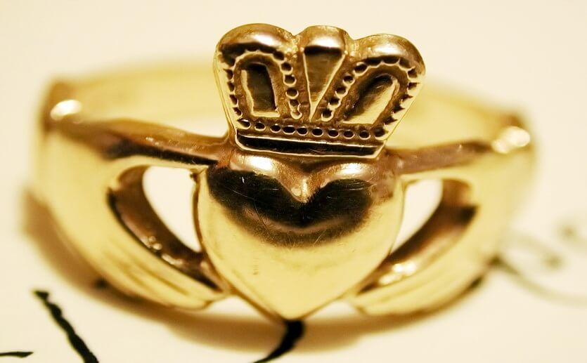 кладдахское кольцо из ирландии