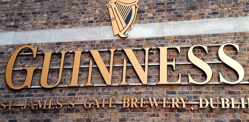 пивоварня гиннесс в ирландии