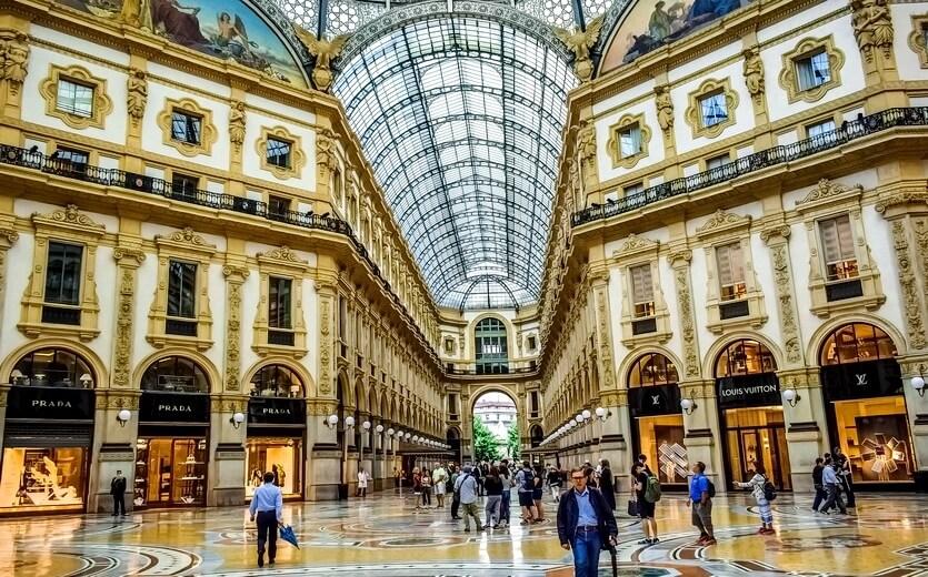 шоппинг в милане италия