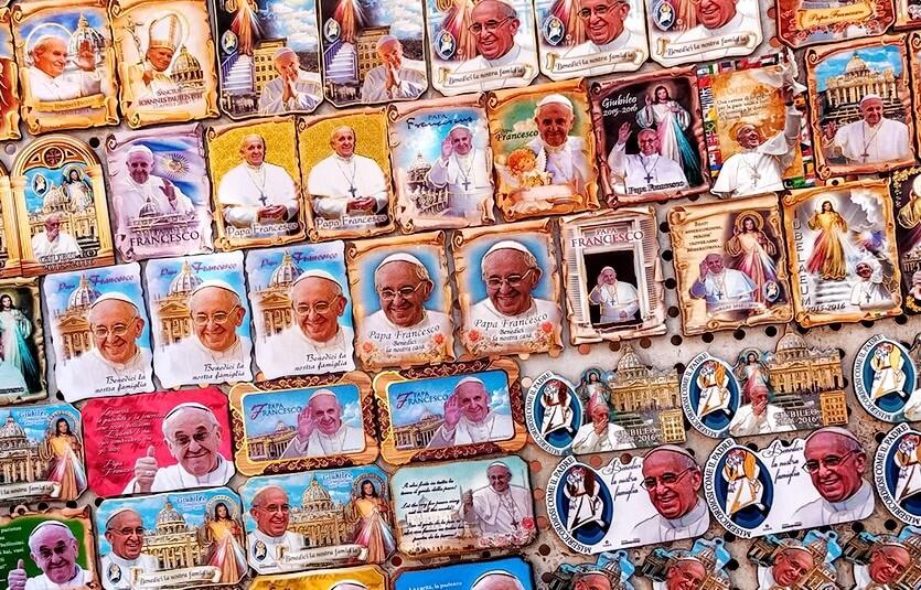 сувениры в ватикане