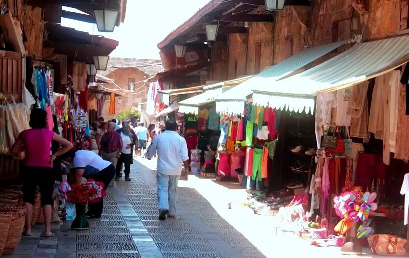 шоппинг в ливане рынок