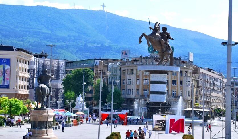македония шоппинг в скопье