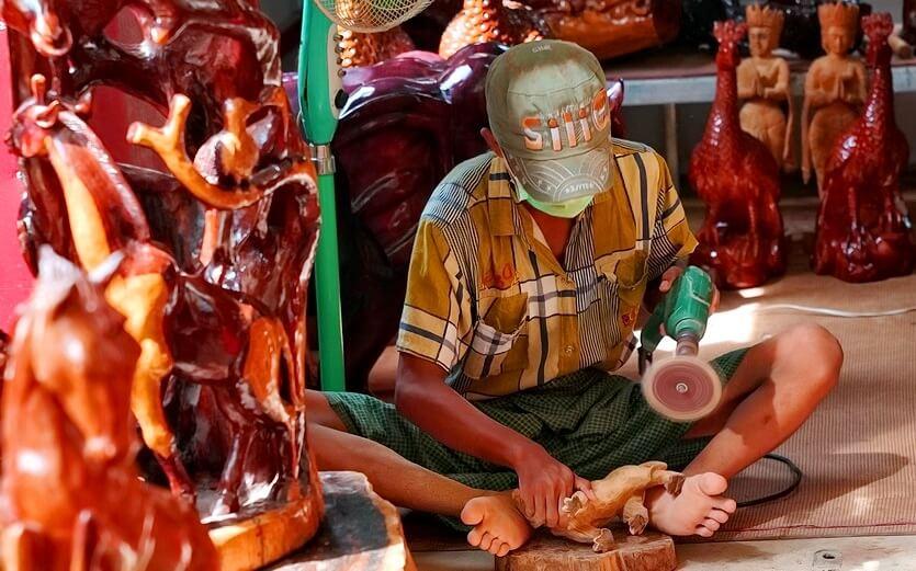 сувениры в мьянме