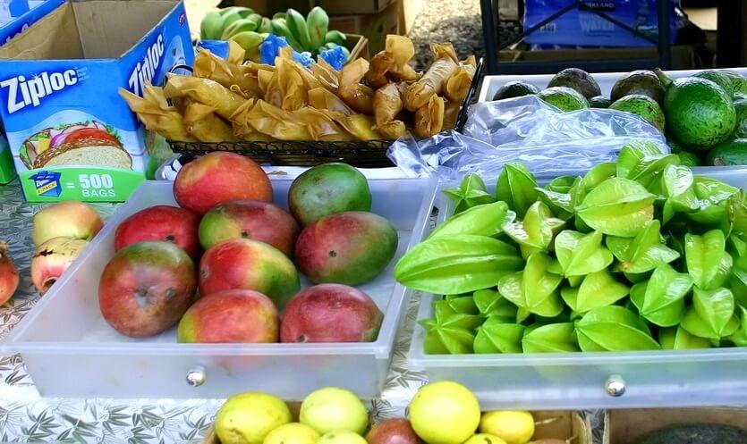 фрукты на гавайях