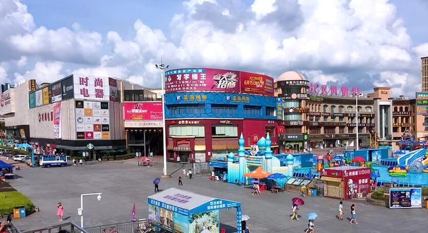 шоппинг-центр в китае