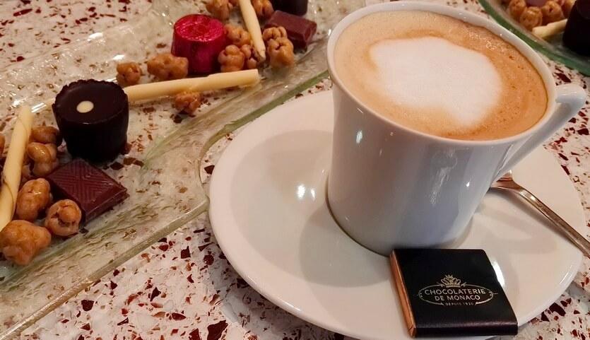 кофе и шоколад в монако