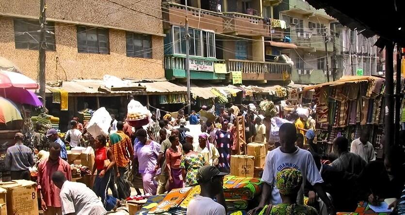 нигерия рынок в лагосе
