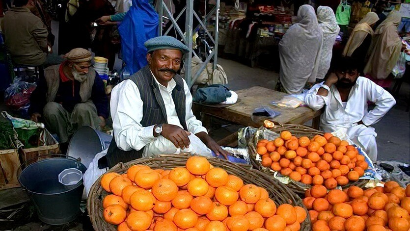 рынок в пакистане