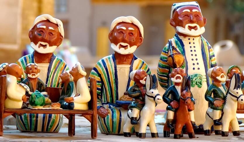 сувениры в узбекистане