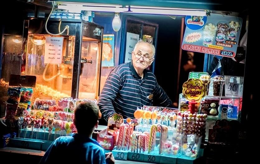 шоппинг в сербии
