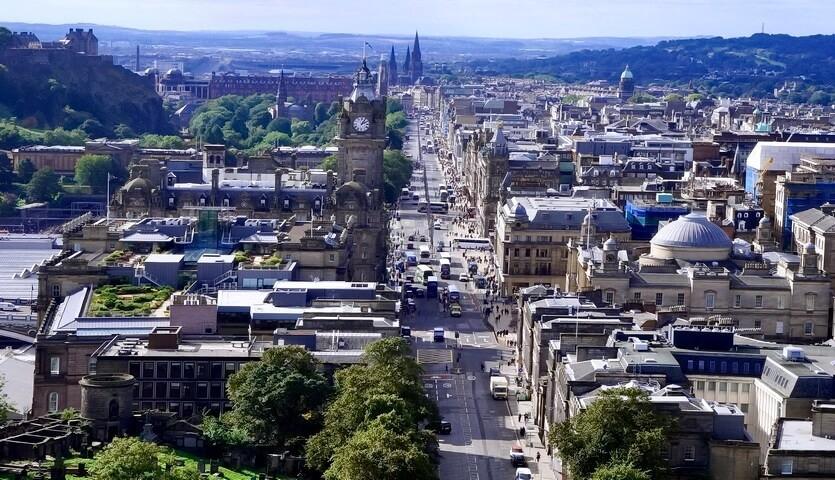 шотландия эдинбург