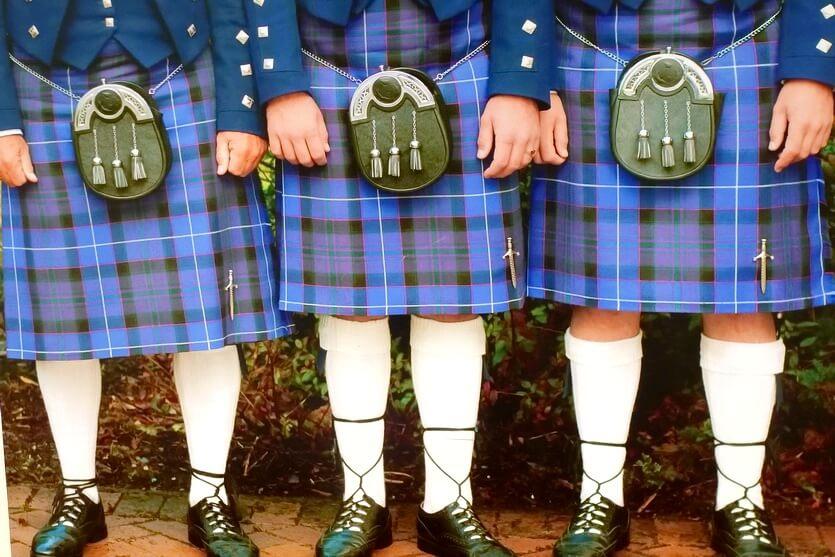 шотландия килты
