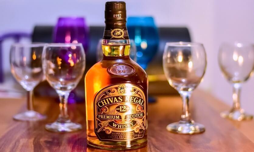 шотландский виски chivas