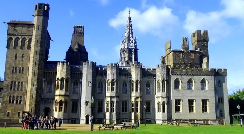 замок уэльс