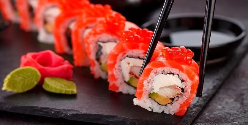 суши япония