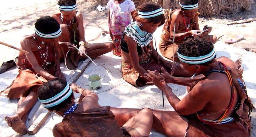 ботсвана бушмены