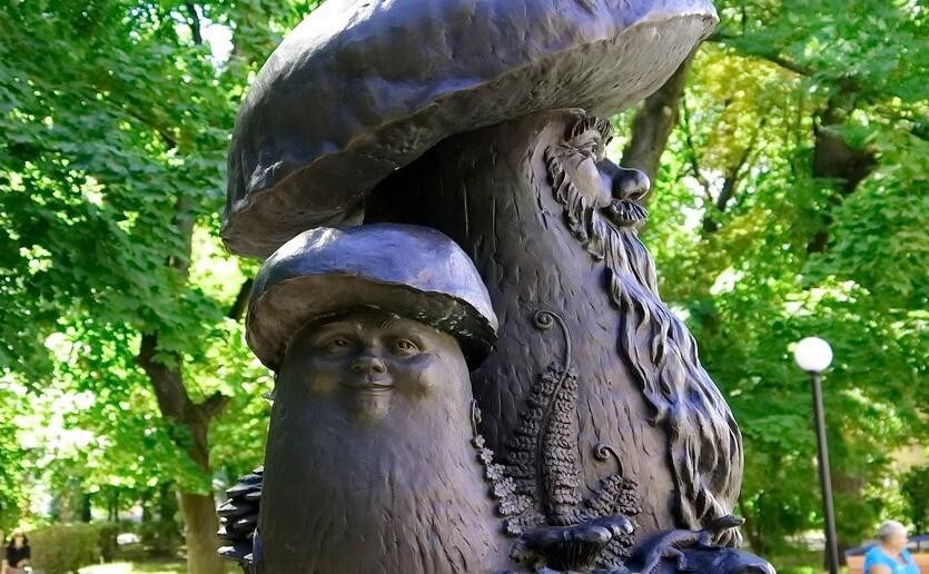 в рязани грибы с глазами