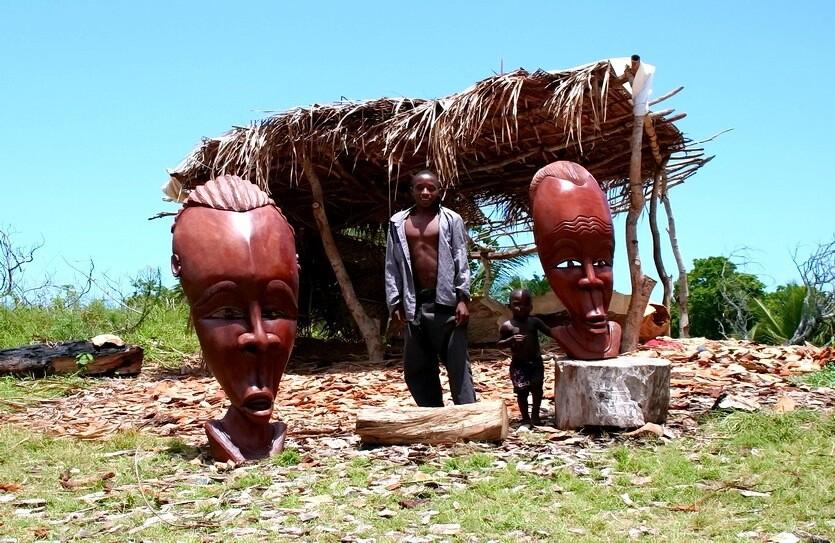 маски в мозамбике