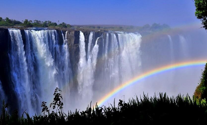 замбия водопад виктория