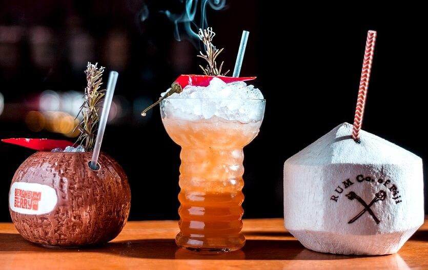 ром и кокосы на фиджи
