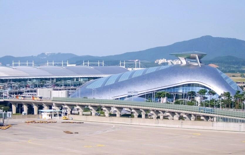 аэропорт инчхон сеул