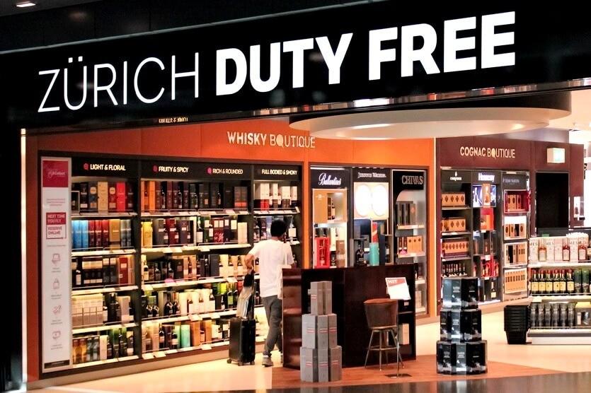 duty free цюрих