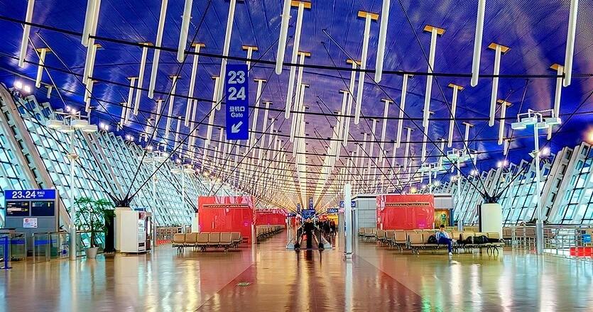 аэропорт пудун шанхай